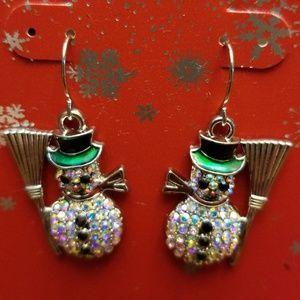 ❤🛍Darling snowman earrings 😊🎄